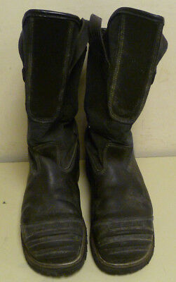 13 E Honeywell Pro Warrington Black Leather Firefighter Boots 5006 5006SG L165