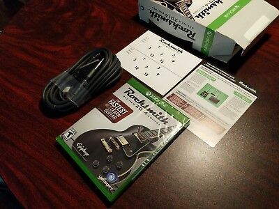 Rocksmith 2014 Edition Xbox One WITH Real Tone CABLE and fret stickers