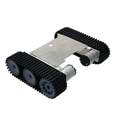 DIY Smart RC Robot Tank Tracked Car Chassis Kit with Crawler
