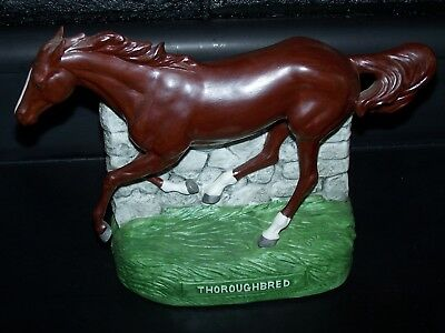 Thoroughbred Equestra Western Distilling Whiskey Decanter Bottle Horse