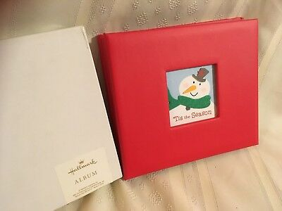 Hallmark Photo Album Scrap Book Christmas