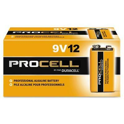 Duracell Procell 9V Batteries Box Of 12 Batteries Exp Mar 2023