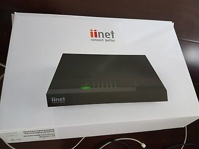NEW Technicolor iiNet TG1 TG-1 Router NBN Ready 4xGb LAN ADSL modem VoIP Voice