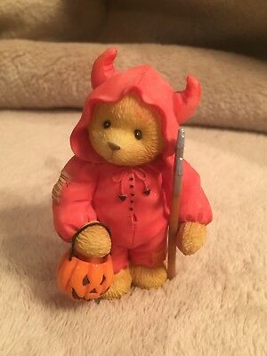 """Cherished Teddies """"You Bring Out The Devil In Me"""" 1998 Figurine"""