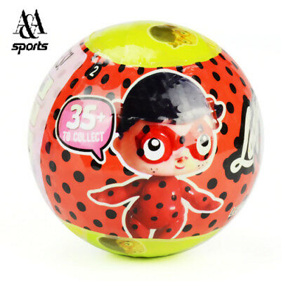 LOL New Cartoons of Ladybug, surprise doll ball