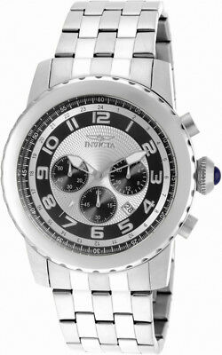 Invicta Specialty 19461 Men's Round Analog Chronograph Date Silver Tone Watch