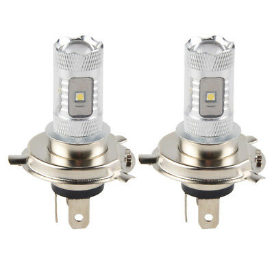 2x 30W H4 9003 Motorcycle LED Headlight Bulb For Honda Indian Kawasaki Suzuki