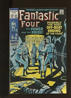 Fantastic Four 87 FN+ 6.5 * 1 Book Lot * Marvel! 1969! The Power and the Pride!