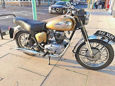 Lovely Classic Royal Enfield Crusader Sports 250cc Vintage Motorcycle 1960 PX