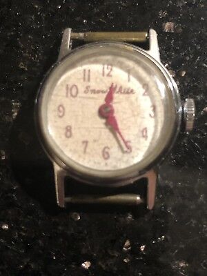 Vintage Disney Snow White Watch No Strap