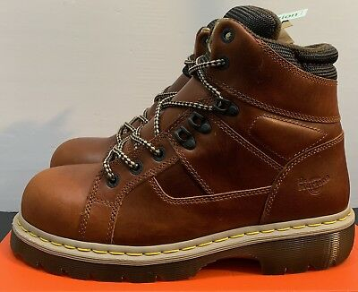 5926e211393 DOC DR MARTENS IRONBRIDGE Steel Toe Safety Boots Mens Size 11 ASTM F2413-11  New