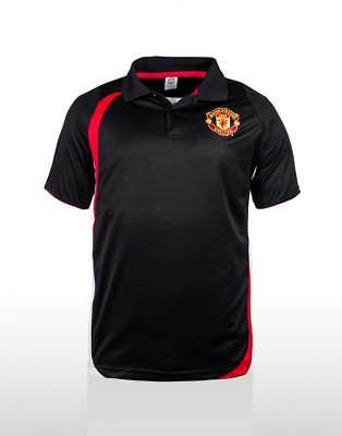 Manchester United FC Polo Shirt Sizes S-3XL! EPL Football! Official Merchandise!