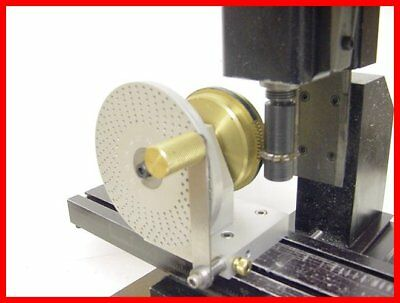 Clock wheel cutting assembly Index plate Sherline Taig Levin Wheel cutter