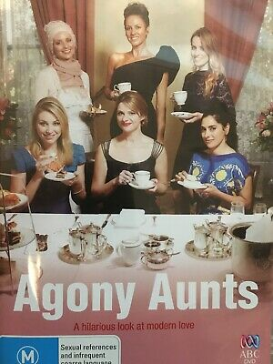 AGONY AUNTS - DVD 6 Episode ABC TV Series 2012 AS NEW!