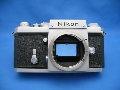 Nikon F Camera Body Only, Vintage 64Xx, Fully Functional, F-36 Md Plate / As-Is