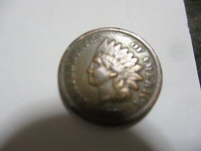 1873 Indian Head Cent closed 3