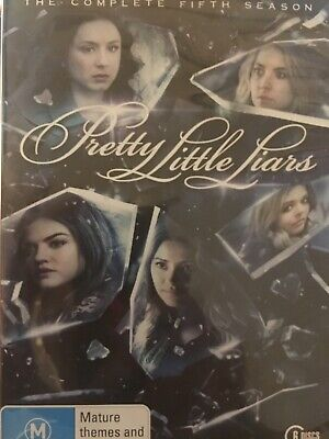 PRETTY LITTLE LIARS - Season 5 6 x DVD Set Exc Cond! Complete Fifth Series Five