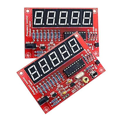 Digital LED 1Hz-50MHz Crystal Oscillator Frequency Counter Meter Tester kdj