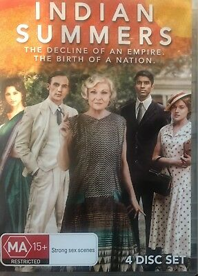 INDIAN SUMMERS - Season 1 4 x DVD Set Exc Cond! Complete First Series One