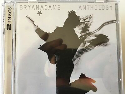 BRYAN ADAMS - Anthology - Best Of Greatest Hits 2 x CD 2005 Polydor AS NEW! 2CD