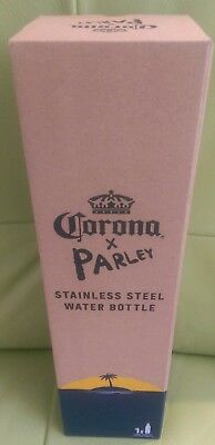 Corona x Parley Stainless Steel Water bottle 750ml New Boxed