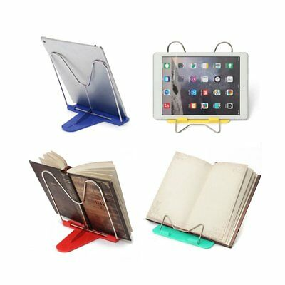 Adjustable Angle Foldable Portable Reading Book Stand Document Holder YU