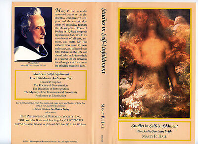 Manly P. Hall's Entire CATEGORY LECTURES - 218 tapes & 436 Hours! (1 DVD) 1991
