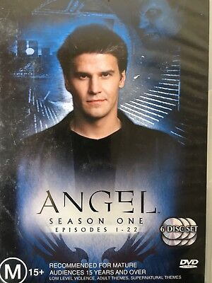 ANGEL - Season 1 6 x DVD Set Exc Cond! Complete First Series One