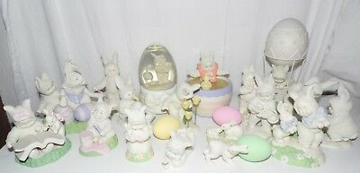 Department 56 Snowbunnies Easter Lot of 13 sets No Boxes