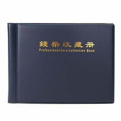240 Holders Collecting Money Penny Book Collection Coin Storage Album ZJ