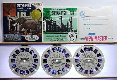 Smithsonian Institution 3-reel set A792 - View-Master S6b ed. A Packet