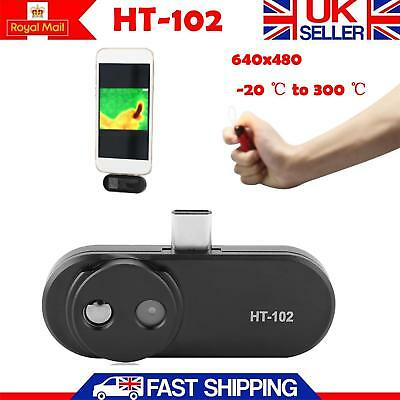 HT-102 Thermal Image Infrared Camera Imager -20 ℃ to 300 ℃ for Android Phone UK