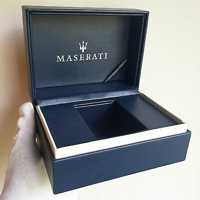 Scatola orologio MASERATI box watch fodero custodia chrono automatic case caja