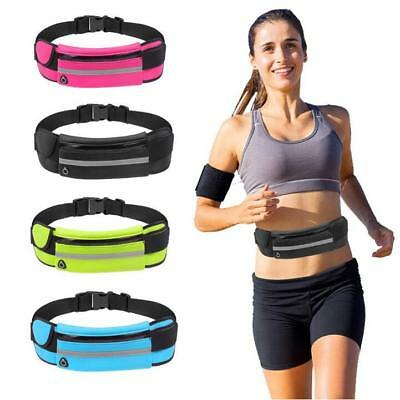 Unisex Travel Runner Waist Money Belt Sport Pack Bum Bag Jogging Pouch Universal