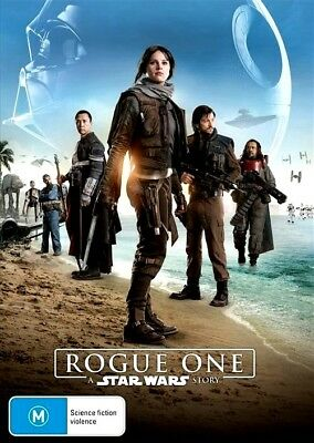 ROGUE ONE A STAR WARS STORY New Dvd FELICITY JONES DIEGO LUNA ***