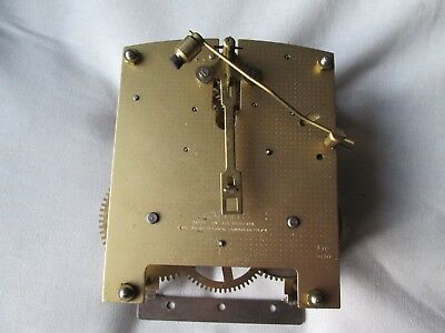 A Smiths Striking Mantel Clock Movement Model F7C