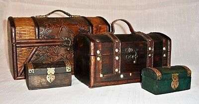 BAULES PEQUEÑOS - JOYEROS. Small Trunks - Jewelery box. Petits troncs - Bijoux