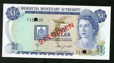"1984 Bermuda $1.00 ""bermuda Monetary Authority ""  Pick #28S  Please Lqqk!!*"