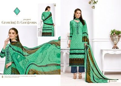 Salwar Casual Suit Kameez Anarkali Ethnic Designer Churidaar Bollywood Green