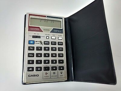 Casio BG-15 Vintage Boxing Game Calculator Clock & Game Stamina Punch rare