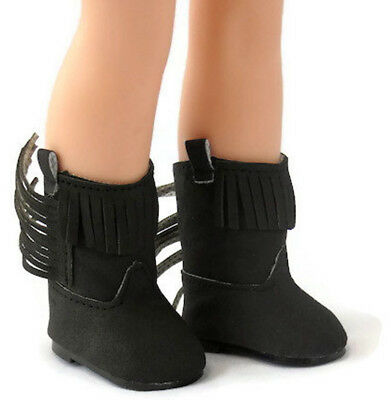1ff48dd7303ea BLACK MARY JANE Shoes for 14.5 inch American Girl Wellie Wishers ...