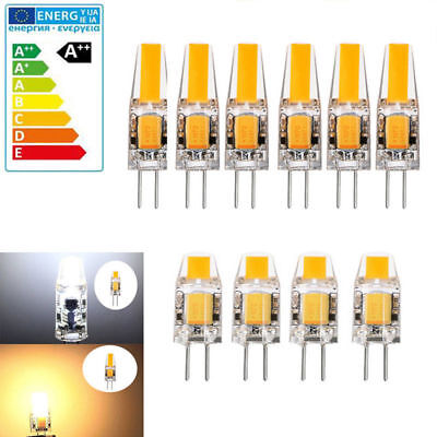 G4 LED COB Dimmable 3W 6W Capsule Lamp Bulbs Energy Saving AC/DC 12V