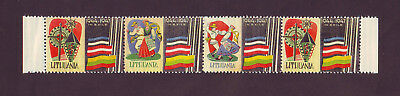 Lithuania In Exile 1944-1947 Flags MNH stamps Stripe