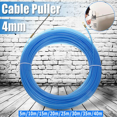 4mm Durable Cable Puller Fiberglass Wire Cable Puller Electrical Tool Fish Tape