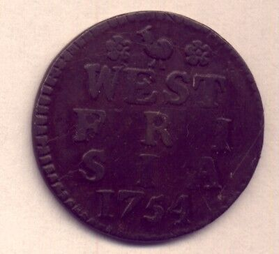 1754 WEST FRIESLAND  DUIT  in GOOD CONDITION    and  LOW RESERVE