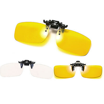 Clip on blue light filter blocking glasses office computer anti UV strain reliIH