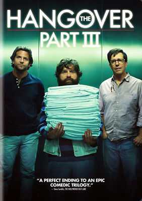 The Hangover Part 3 DVD NEW