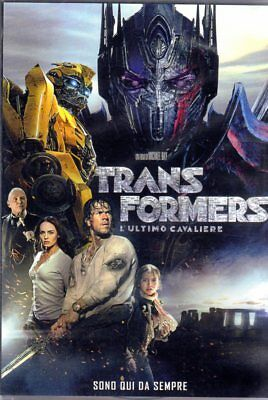 Transformers L'ultimo Cavaliere (2017) Dvd