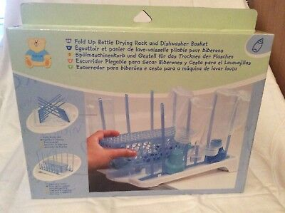 Baby Bottle Drying Rack Infant Teats Cups Breast Pump Parts Dryer NEW Dishwasher