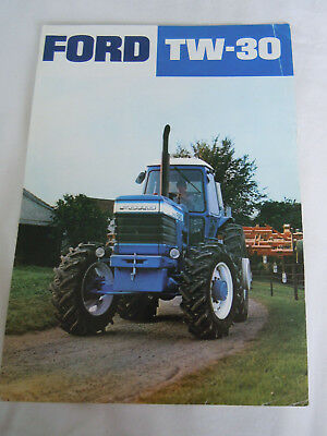 @Vintage Ford TW-30 Tractor Spec Sheet@